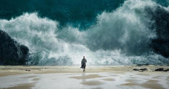Enter the sea
