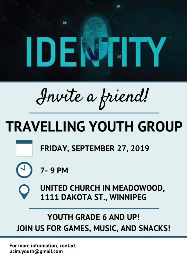Travelling Youth Group, Sept 2019